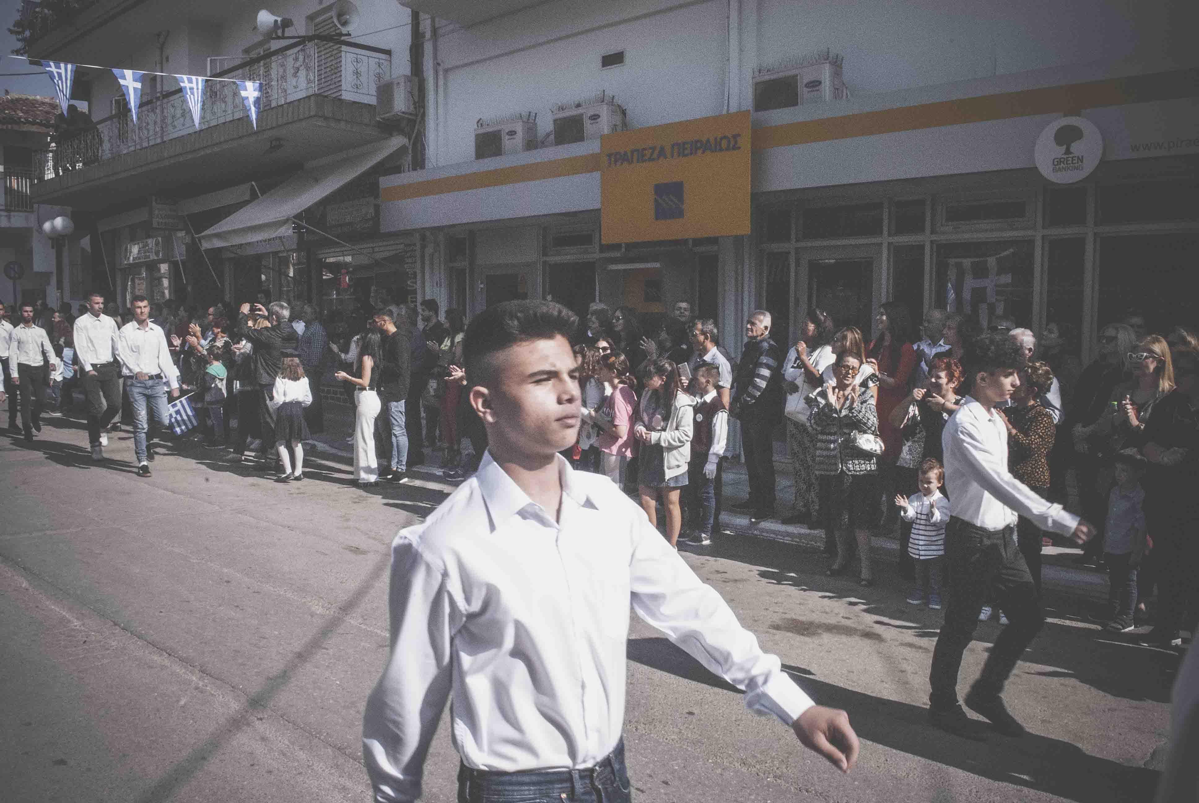 Φωτογραφικό υλικό από την παρέλαση στα Ψαχνά DSC 0433  Η παρέλαση της 28ης Οκτωβρίου σε Καστέλλα και Ψαχνά (φωτό) DSC 0433