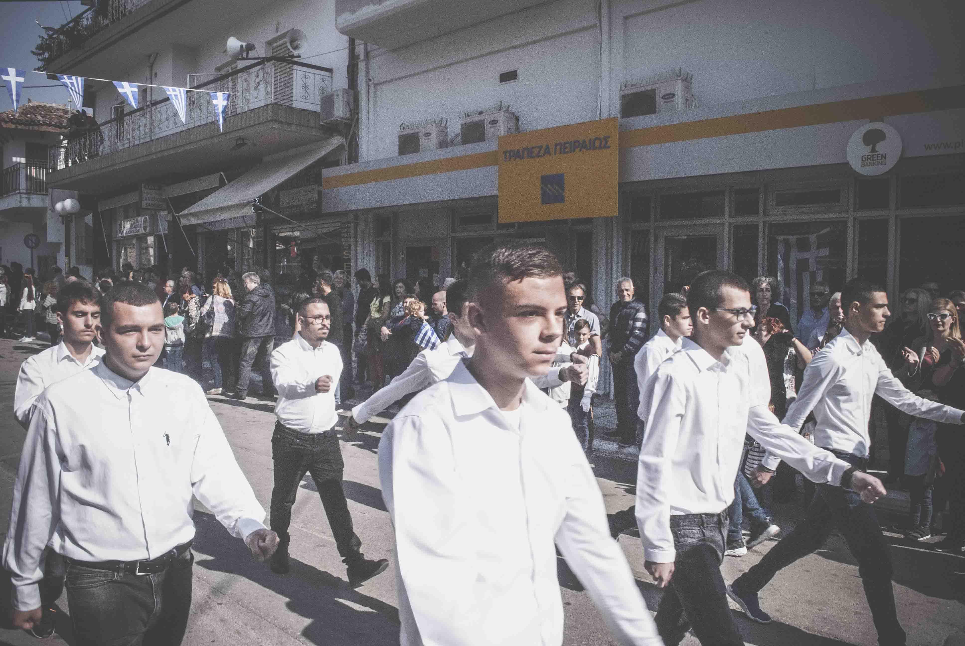 Φωτογραφικό υλικό από την παρέλαση στα Ψαχνά DSC 0436  Η παρέλαση της 28ης Οκτωβρίου σε Καστέλλα και Ψαχνά (φωτό) DSC 0436