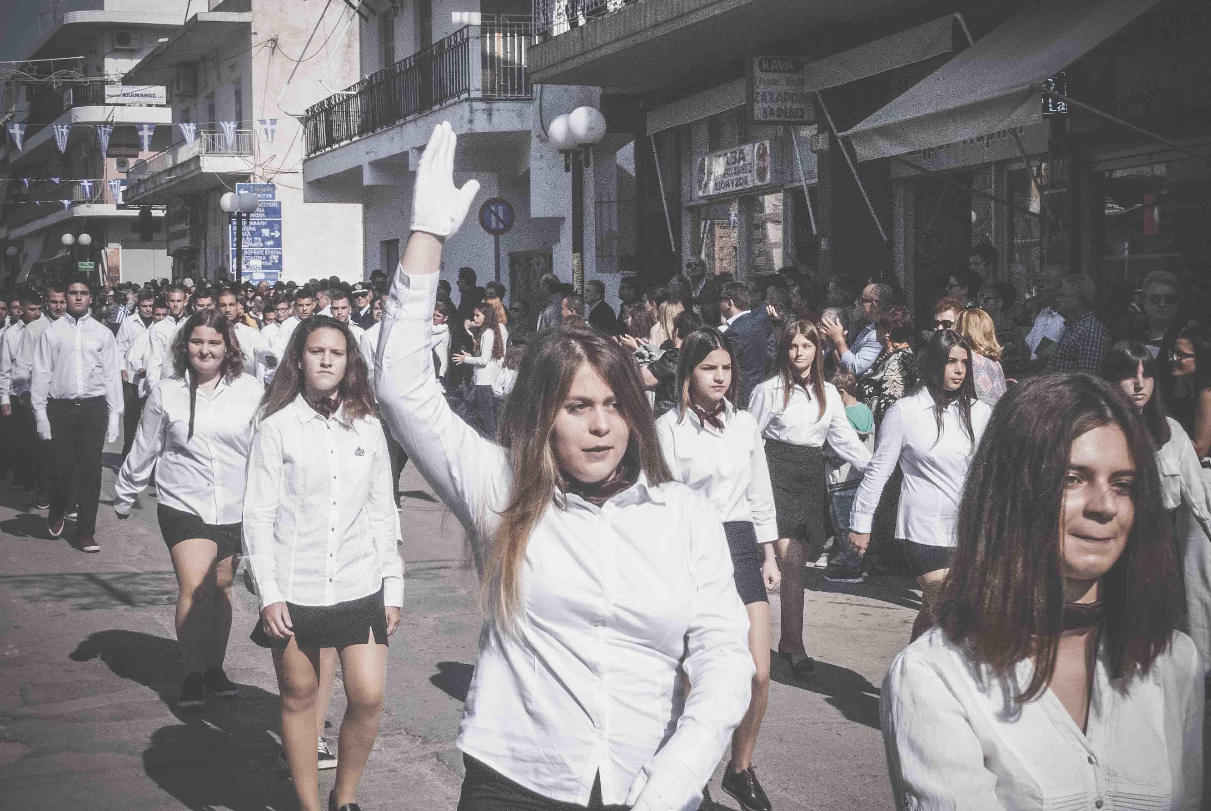 Φωτογραφικό υλικό από την παρέλαση στα Ψαχνά DSC 0438  Η παρέλαση της 28ης Οκτωβρίου σε Καστέλλα και Ψαχνά (φωτό) DSC 0438