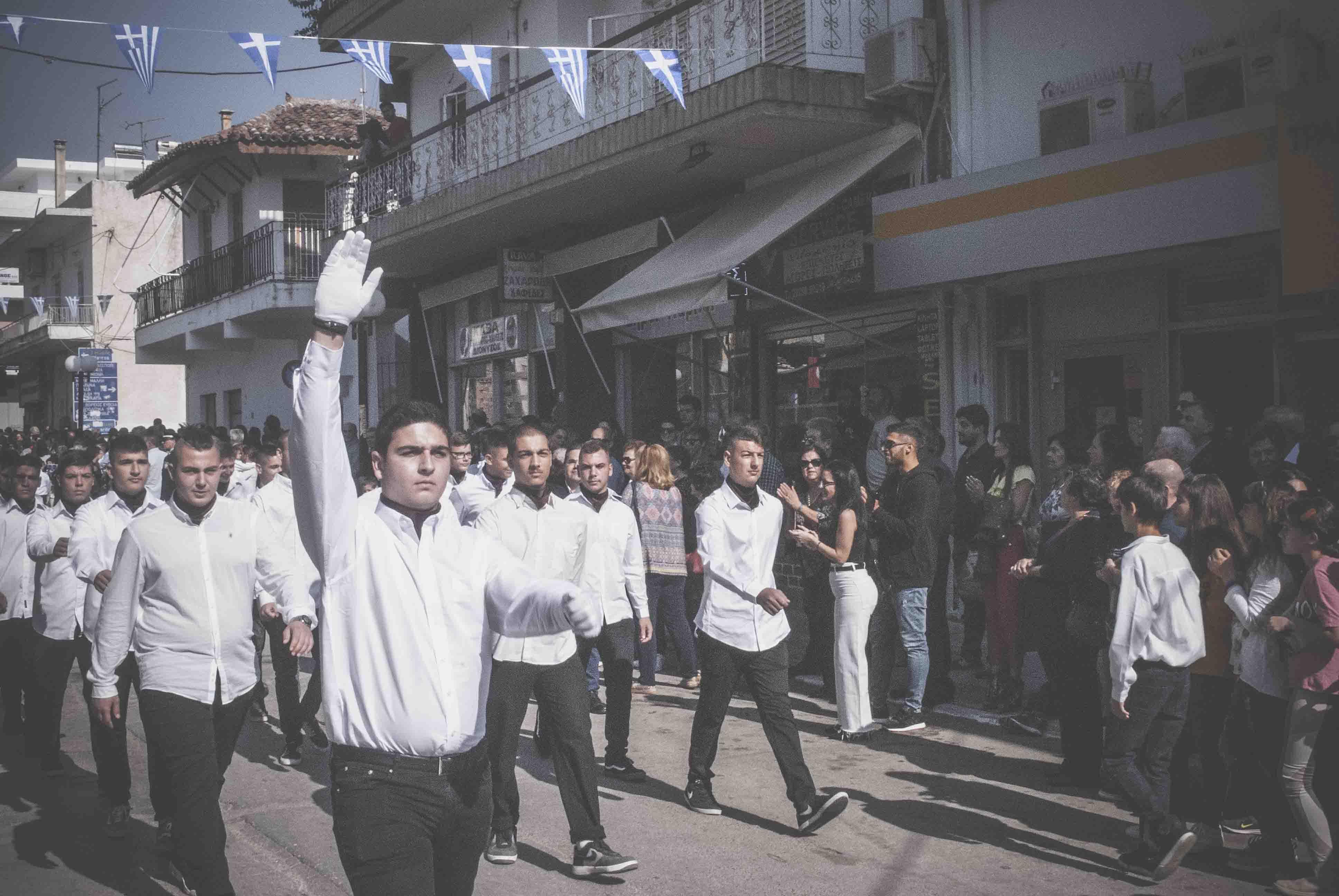 Η παρέλαση της 28ης Οκτωβρίου σε Καστέλλα και Ψαχνά (φωτό) DSC 0440