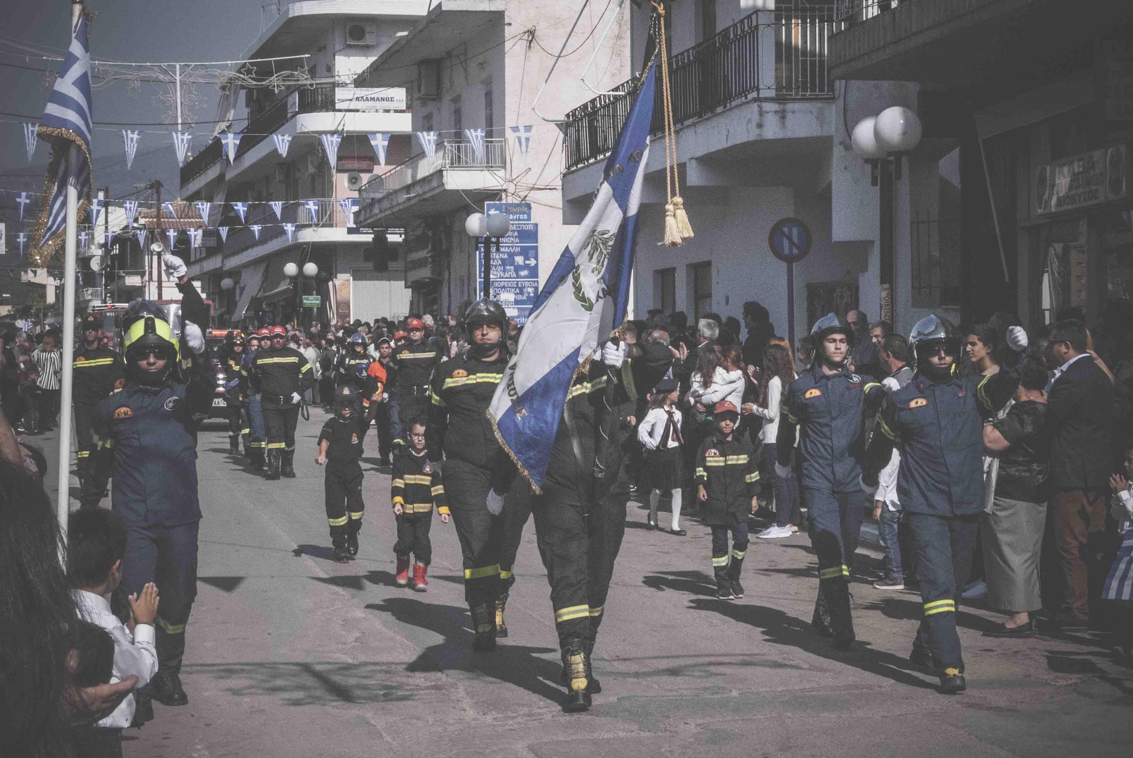Η παρέλαση της 28ης Οκτωβρίου σε Καστέλλα και Ψαχνά (φωτό) DSC 0444