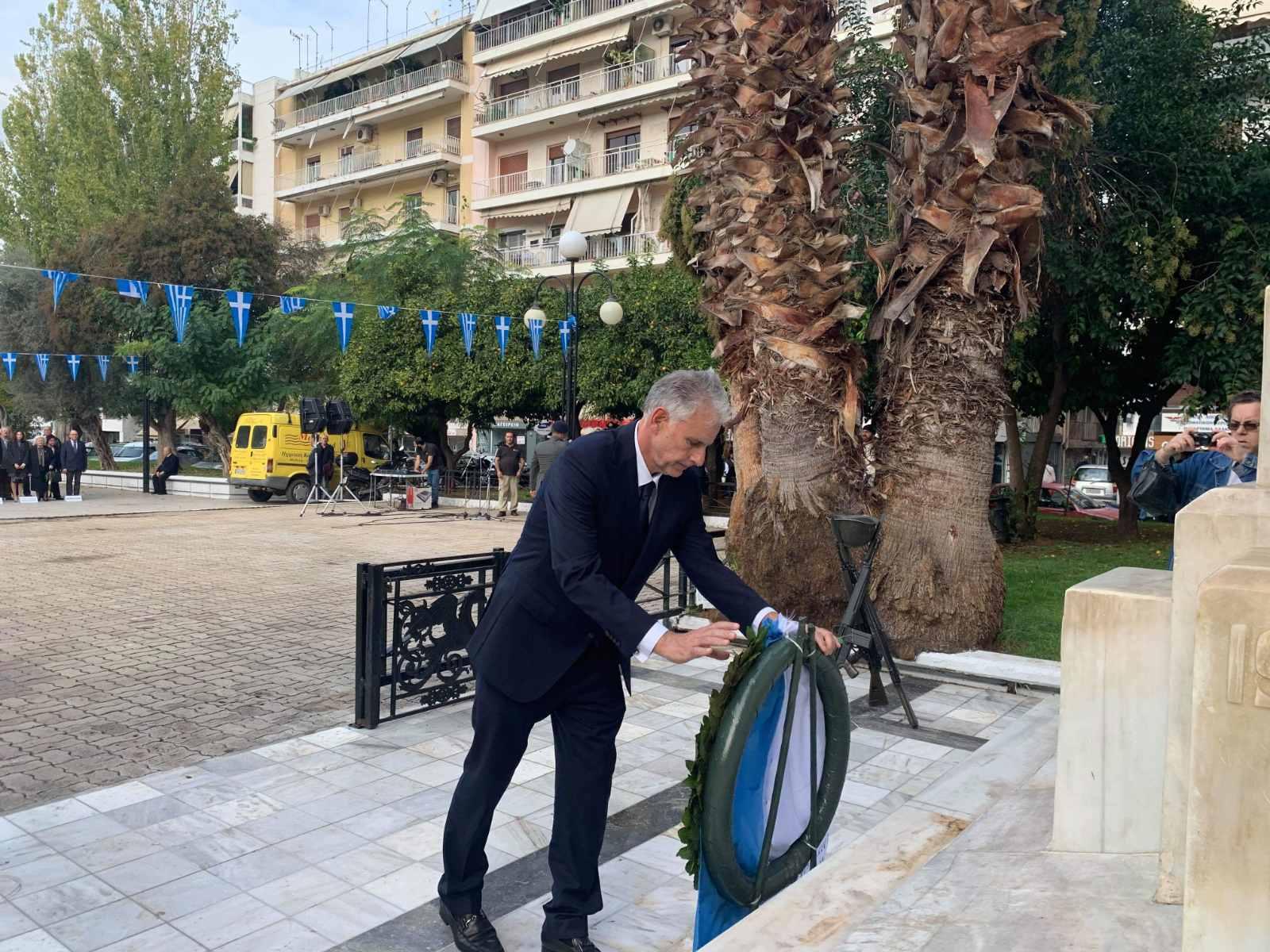 , Ο Σπύρος Πνευματικός στις εκδηλώσεις για την Ημέρα των Ενόπλων Δυνάμεων, Eviathema.gr | Εύβοια Τοπ Νέα Ειδήσεις