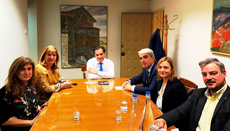 , Σίμος Κεδίκογλου, συναντήθηκε με Άδωνι Γεωργιάδη, Eviathema.gr | Εύβοια Τοπ Νέα Ειδήσεις