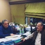 , Συνάντηση Γιώργου Ψαθά με Θανάση Ζεμπίλη για το ΕΚΠΑ, Eviathema.gr   Εύβοια Τοπ Νέα Ειδήσεις