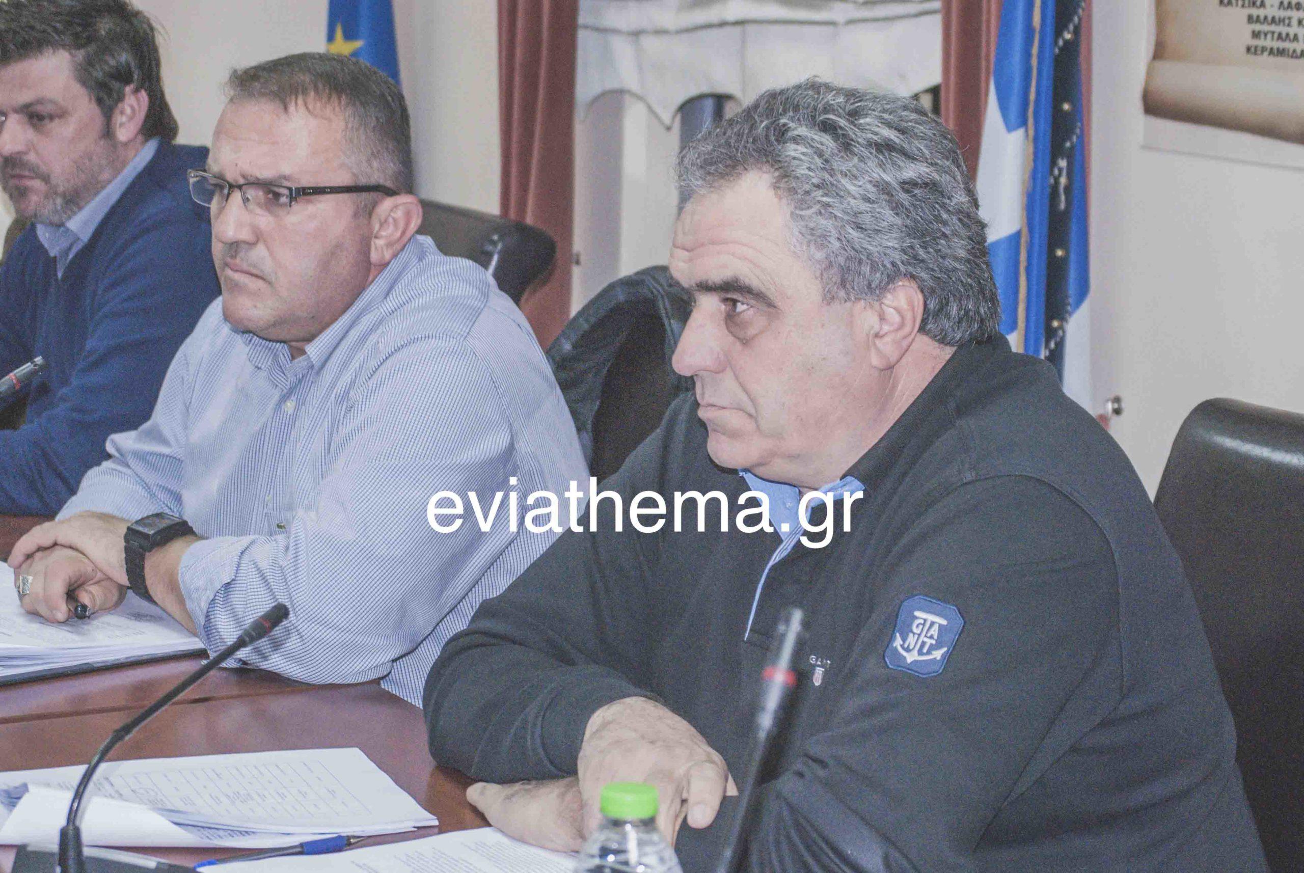 , Ψαχνά αποκαταστάθηκε η βλάβη του αγωγού στο νεκροταφείο., Eviathema.gr | Εύβοια Τοπ Νέα Ειδήσεις