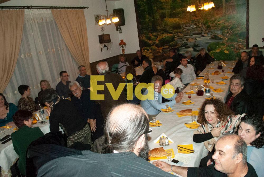 Πραγματοποιήθηκε η κοπή πίτας του Συλλόγου Αγγελής Γοβιός Πραγματοποιήθηκε η κοπή πίτας του Συλλόγου Αγγελής Γοβιός DSC 0117