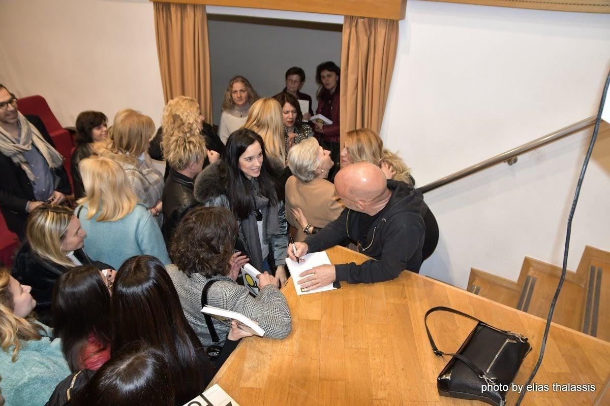 Με επιτυχία πραγματοποιήθηκε η παρουσίαση των βιβλίων του Στέφανου Ξενάκου σε διοργάνωση Δήμου Χαλκιδέων και ΔΟΠΠΑΧ DSC 4859