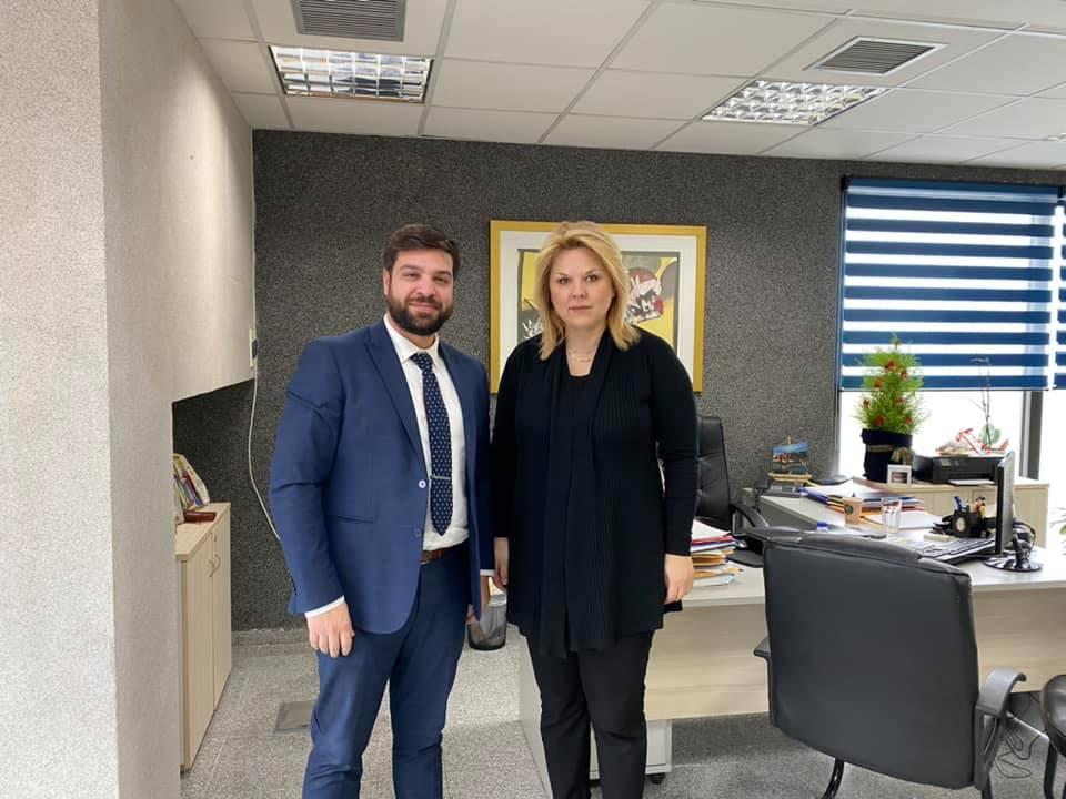 , Έλενα Βάκα: Συνάντηση με τον νέο Διοικητή του Νοσοκομείου Χαλκίδας, Eviathema.gr | Εύβοια Τοπ Νέα Ειδήσεις
