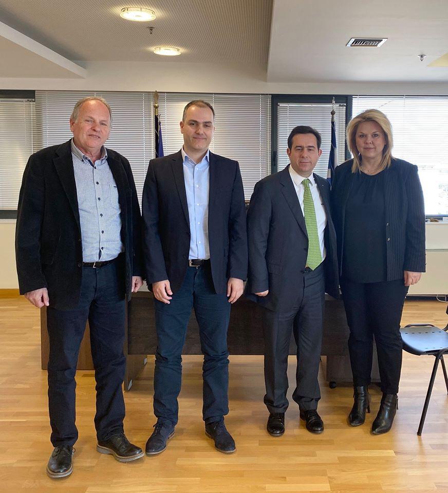 , Συνάντηση της Δημάρχου Χαλκιδέων με τον Υπουργό Μετανάστευσης και Ασύλου., Eviathema.gr | ΕΥΒΟΙΑ ΝΕΑ - Νέα και ειδήσεις από όλη την Εύβοια