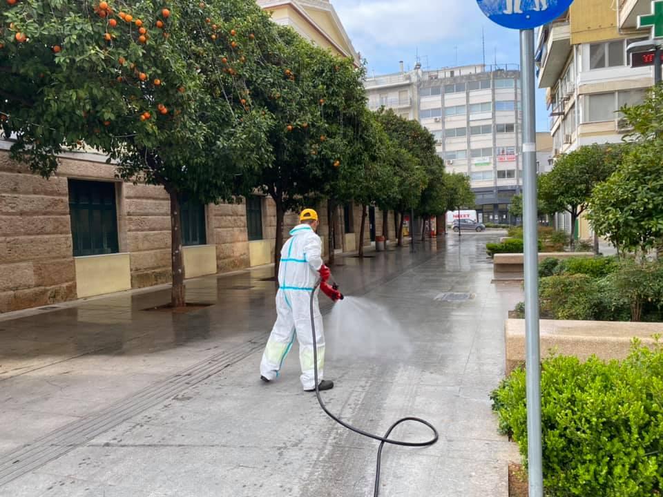 , Δήμος Χαλκιδέων: Ξεκίνησαν οι απολυμάνσεις σε κοινόχρηστους χώρους και πλατείες, Eviathema.gr | Εύβοια Τοπ Νέα Ειδήσεις