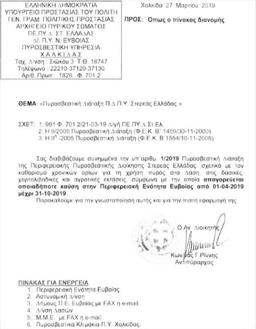 καύση στα δάση Πυροσβεστική διάταξη: Απαγορεύεται η καύση στα δάση από 1/4/2020-31/10/2020 90637914 2625330844382349 2155257019114717184 n