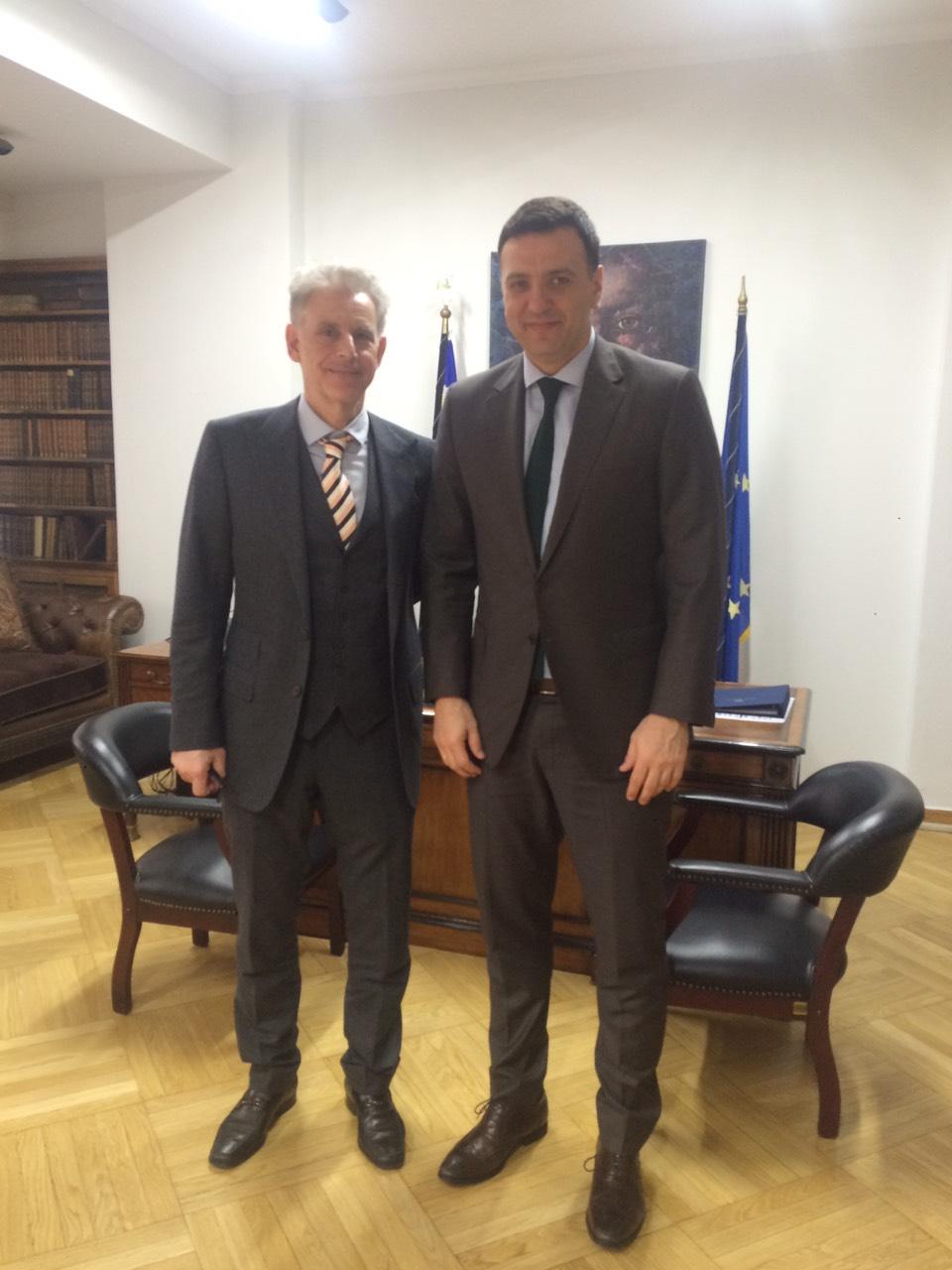 , Σπύρος Πνευματικός:Συνάντηση με τον Υπουργό Υγείας Βασίλη Κικίλια, Eviathema.gr | Εύβοια Τοπ Νέα Ειδήσεις