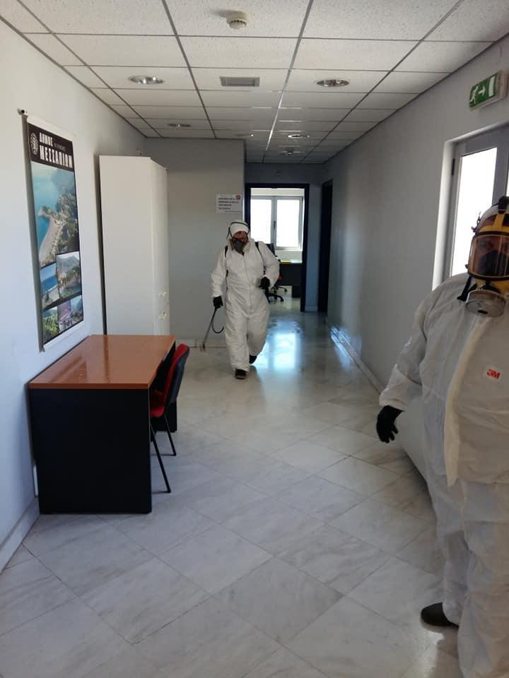 Δήμος Διρφύων Μεσσαπίων: Απολύμανση στις Δημοτικές εγκαταστάσεις dim1