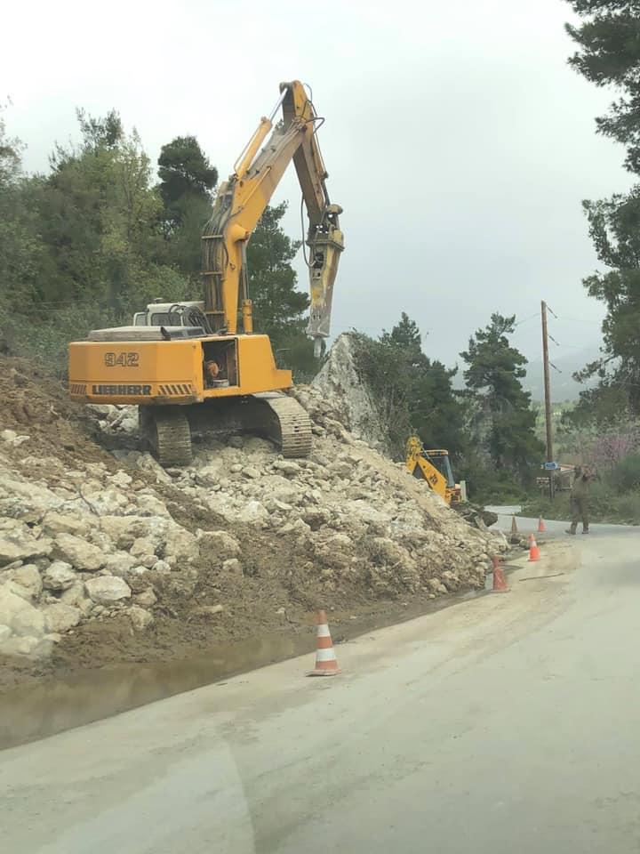 Αλέξανδρος Θεοδώρου, Αλέξανδρος Θεοδώρου: Ξεκινήσαμε αποκατάσταση σε αρκετούς δρόμους σε όλη την ΔΕ Κύμης, Eviathema.gr | Εύβοια Τοπ Νέα Ειδήσεις