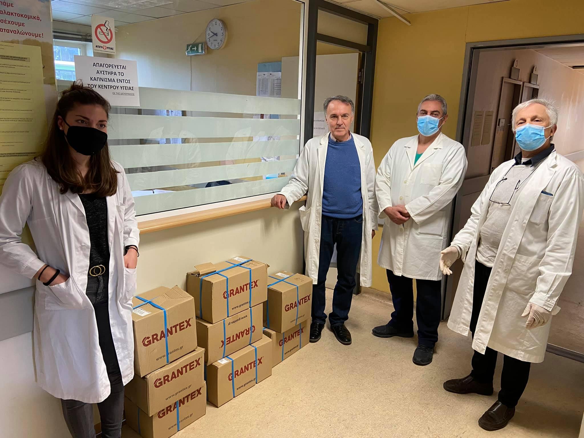 Γιάννης Κοντζιάς, Ιστιαία: Μάσκες και αντισηπτικά παρέδωσε ο Γιάννης Κοντζιάς στο Κέντρο Υγείας, Eviathema.gr | ΕΥΒΟΙΑ ΝΕΑ - Νέα και ειδήσεις από όλη την Εύβοια