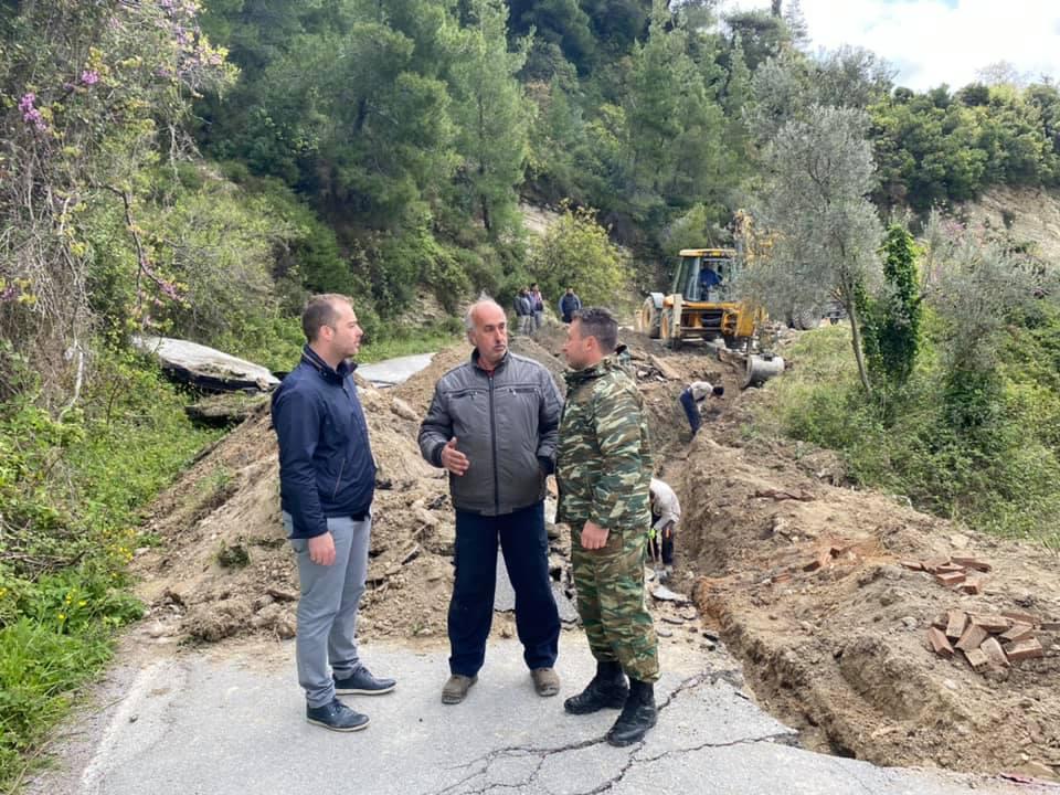 Αλέξανδρος Θεοδώρου, Αλέξανδρος Θεοδώρου: Ξεκινήσαμε αποκατάσταση σε αρκετούς δρόμους σε όλη την ΔΕ Κύμης, Eviathema.gr | ΕΥΒΟΙΑ ΝΕΑ - Νέα και ειδήσεις από όλη την Εύβοια