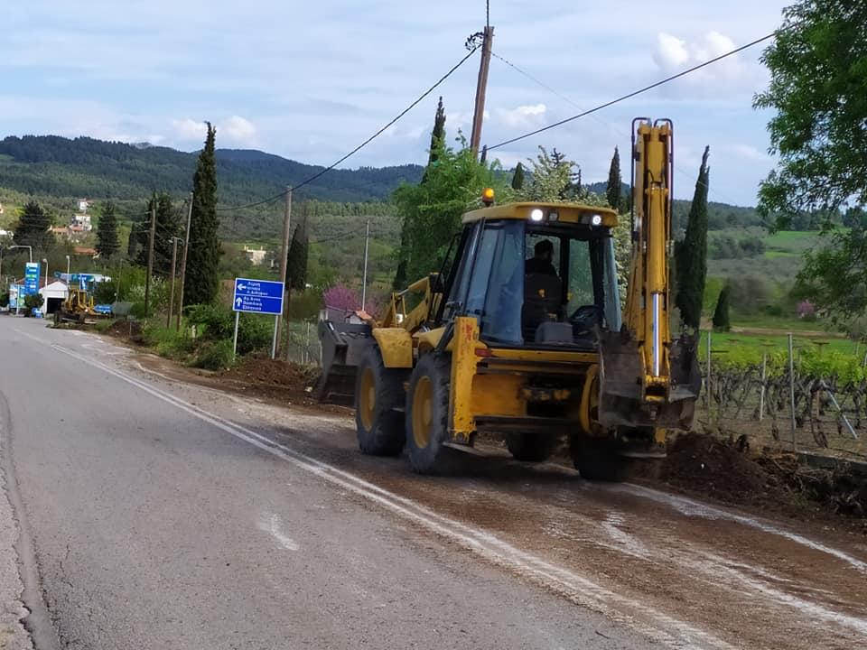Δήμος Μαντουδίου - Λίμνης - Αγ. Άννας: Με εντατικούς ρυθμούς στα έργα στην εθνική οδό Χαλκίδας - Ιστιαίας