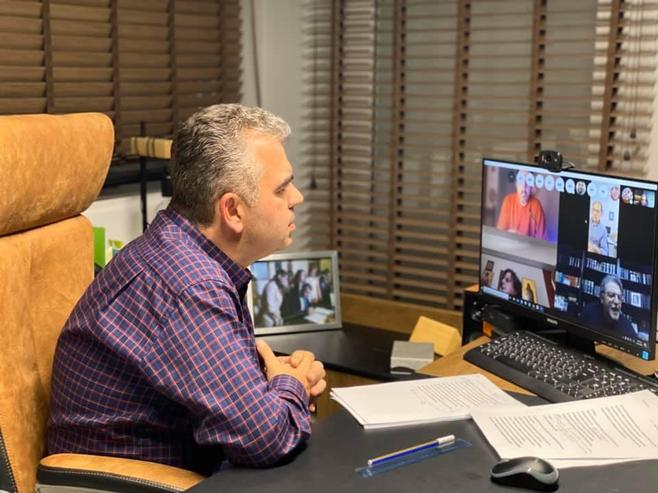 Λευτέρης Ραβιόλος, Λευτέρης Ραβιόλος: Τηλεδιάσκεψη πριν από λίγο με τα μέλη του Δημοτικού Συμβουλίου, Eviathema.gr | ΕΥΒΟΙΑ ΝΕΑ - Νέα και ειδήσεις από όλη την Εύβοια
