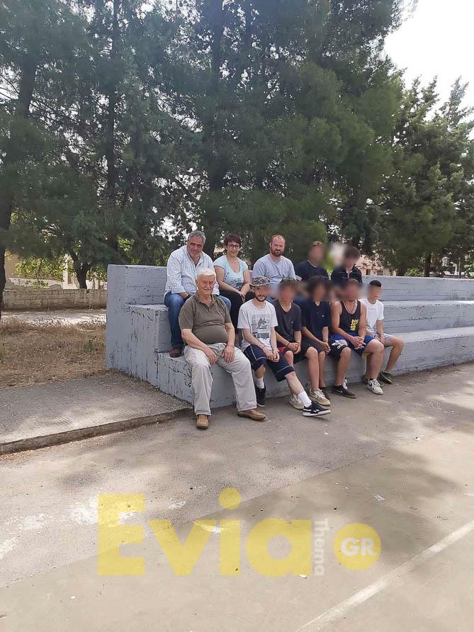 Τριάδα Ευβοίας: Ξεκίνησε η δράση εξωραϊσμού του παλιού γηπέδου με συμμετοχή εθελοντών, Τριάδα Ευβοίας: Ξεκίνησε η δράση εξωραϊσμού του παλιού γηπέδου με συμμετοχή εθελοντών, Eviathema.gr | Εύβοια Τοπ Νέα Ειδήσεις