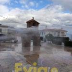 , Καθαρισμός και απολύμανση στα Λουκίσια σήμερα, Eviathema.gr | Εύβοια Τοπ Νέα Ειδήσεις
