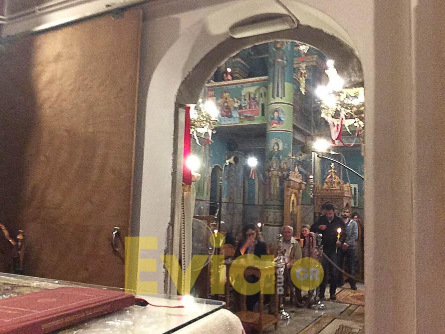 Ψαχνά Ευβοίας: Οι πιστοί άκουσαν το «Χριστός Ανέστη», Ψαχνά Ευβοίας: Οι πιστοί άκουσαν το «Χριστός Ανέστη» – To eviathema.gr στον Ιερό Ναό Μεταμορφώσεως του Σωτήρως, Eviathema.gr | ΕΥΒΟΙΑ ΝΕΑ - Νέα και ειδήσεις από όλη την Εύβοια