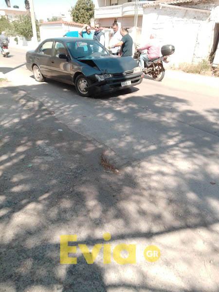 Ψαχνά Ευβοίας: Τροχαίο ατύχημα, Ψαχνά Ευβοίας: Τροχαίο ατύχημα – Ελαφρά τραυματισμένος ο ένας οδηγός [ΦΩΤΟΓΡΑΦΙΕΣ], Eviathema.gr | ΕΥΒΟΙΑ ΝΕΑ - Νέα και ειδήσεις από όλη την Εύβοια