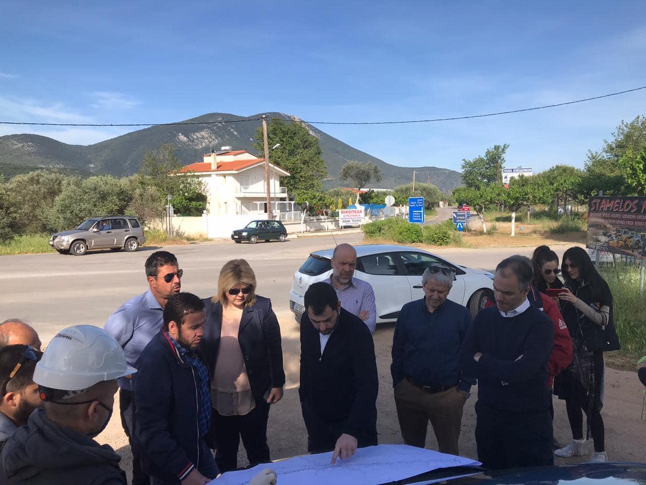 Ξεκινά η κατασκευή του κόμβου Δροσιάς, Ξεκινά η κατασκευή του κόμβου Δροσιάς, έργο ύψους 1.200.000 ευρώ στην θέση Αγ. Παρασκευή, Eviathema.gr | ΕΥΒΟΙΑ ΝΕΑ - Νέα και ειδήσεις από όλη την Εύβοια