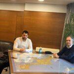 , Συνάντηση Σπανού και Κελαϊδίτη και Μπουρμά, με την πρόεδρο του δημοτικού συμβουλίου της Σκύρου Γιάννη Ευγενικό, Eviathema.gr   Εύβοια Τοπ Νέα Ειδήσεις
