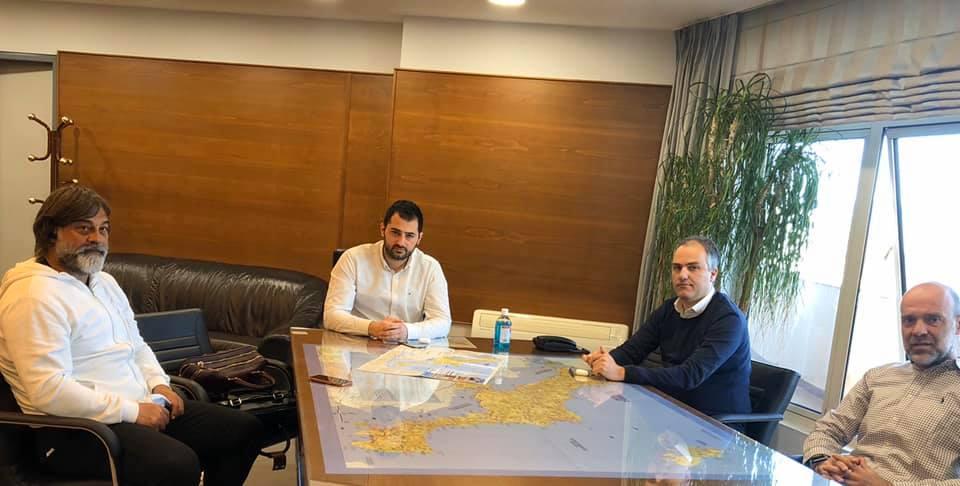 Συνάντηση Σπανού και Κελαϊδίτη και Μπουρμά, Συνάντηση Σπανού και Κελαϊδίτη και Μπουρμά, με την πρόεδρο του δημοτικού συμβουλίου της Σκύρου Γιάννη Ευγενικό, Eviathema.gr | ΕΥΒΟΙΑ ΝΕΑ - Νέα και ειδήσεις από όλη την Εύβοια