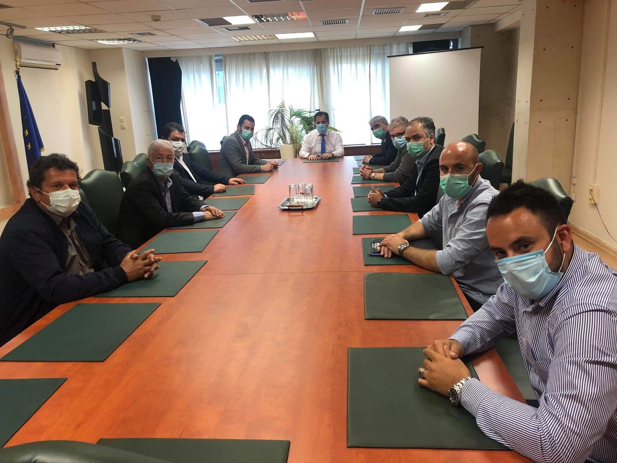 , Πραγματοποιήθηκαν οι έκτακτες συναντήσεις Βουλευτών Ευβοίας και Τσαπουρνιώτη με Βρούτση και Γεωργιάδη για το θέμα της ΤΕΡΝΑ, Eviathema.gr | Εύβοια Τοπ Νέα Ειδήσεις