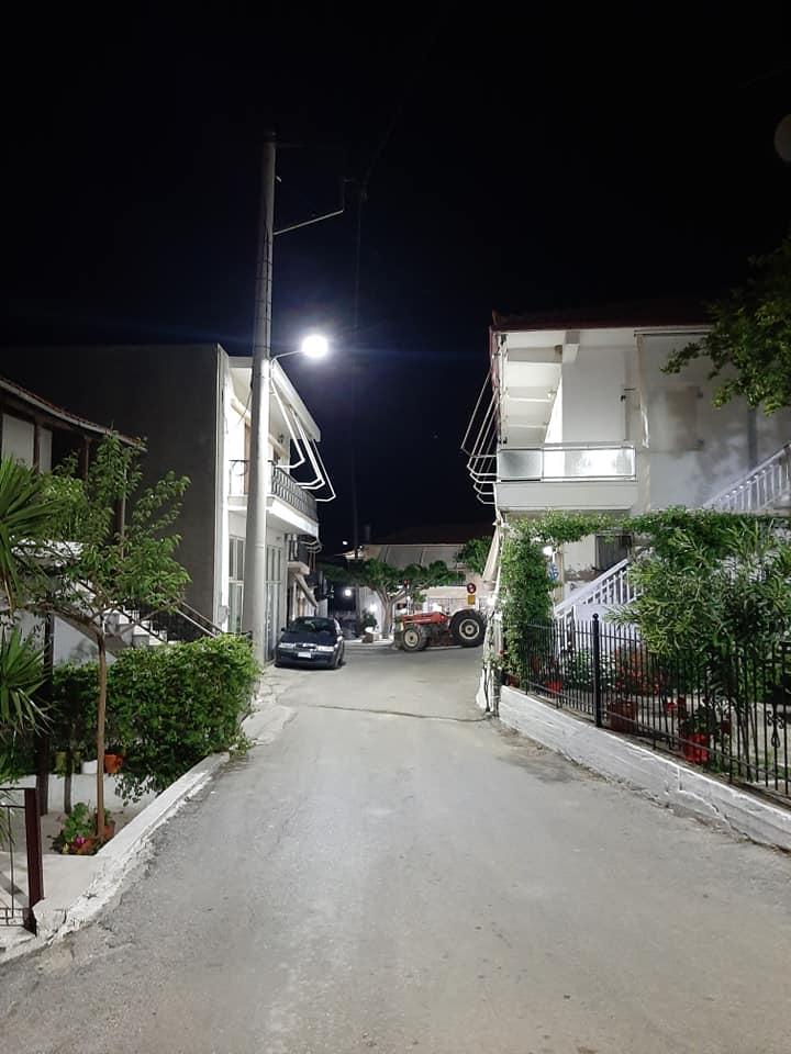 Βίταλα Δήμου Κύμης - Αλιβερίου: Τοποθέτηση νέας τεχνολογίας λαμπτήρων led