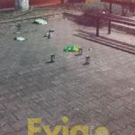 , Καστέλα Ευβοίας: Ρομά πίνουν μπύρες στην πλατεία – Δείτε σε τι χάλι βρίσκεται ο χώρος, Eviathema.gr | Εύβοια Τοπ Νέα Ειδήσεις