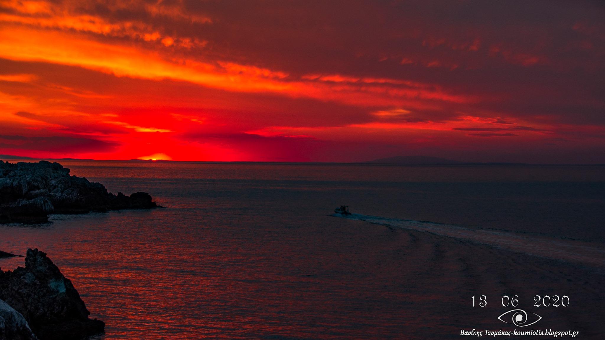 Κύμη Ευβοίας: Το θέαμα του ηλιοβασιλέματος που θα σας αφήσει άφωνους, Κύμη Ευβοίας: Το θέαμα του ηλιοβασιλέματος που θα σας αφήσει άφωνους, Eviathema.gr | Εύβοια Τοπ Νέα Ειδήσεις
