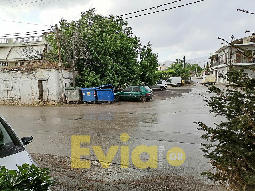 Άνοιξαν οι ουρανοί στην Εύβοια, Άνοιξαν οι ουρανοί στην Εύβοια – Απίστευτες εικόνας με πυκνό χαλάζι, Eviathema.gr | Εύβοια Τοπ Νέα Ειδήσεις