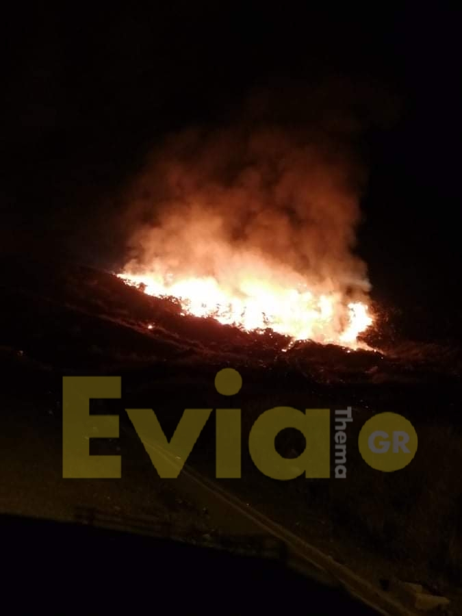 Χαλκίδα - Φωτιά στην Χαραυγή, Χαλκίδα – Φωτιά στην Χαραυγή: Δύσκολο το βράδυ για την περιοχή [ΦΩΤΟΓΡΑΦΙΑ], Eviathema.gr | ΕΥΒΟΙΑ ΝΕΑ - Νέα και ειδήσεις από όλη την Εύβοια
