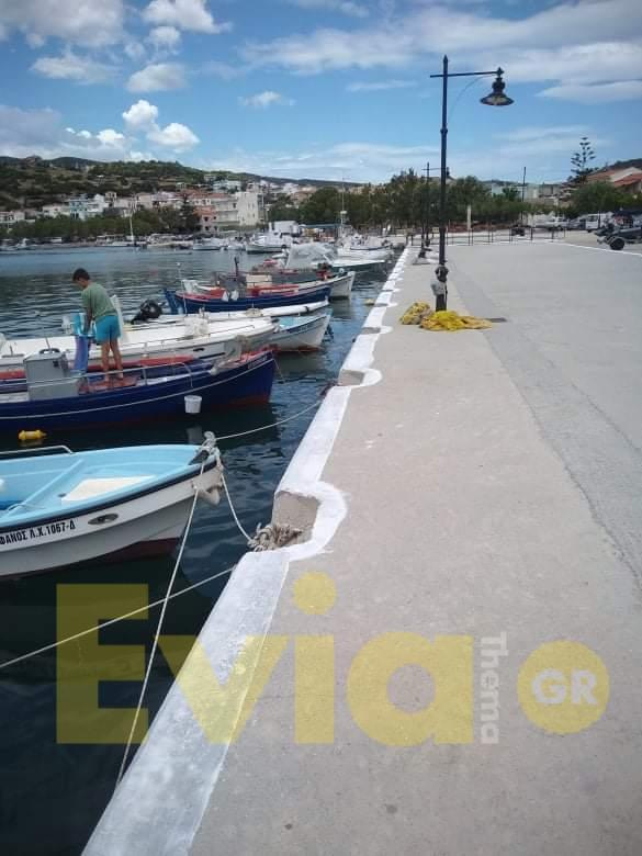 , Παρεμβάσεις καλλωπισμού από τον ΟΛΝΕ στην παραλία Αγίων Αποστόλων Πετριών, Eviathema.gr | ΕΥΒΟΙΑ ΝΕΑ - Νέα και ειδήσεις από όλη την Εύβοια