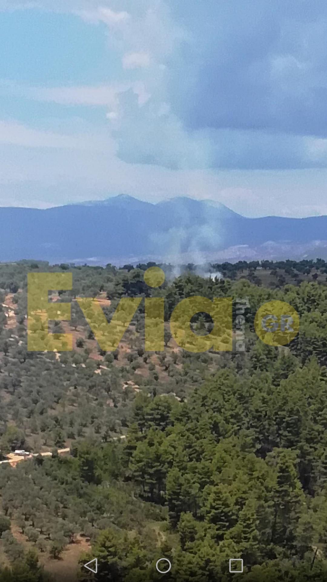 Αμφιθέα Ευβοίας: Νέα Πυρκαγιά, Αμφιθέα Ευβοίας: Νέα πυρκαγιά από κεραυνό, Eviathema.gr   Εύβοια Τοπ Νέα Ειδήσεις
