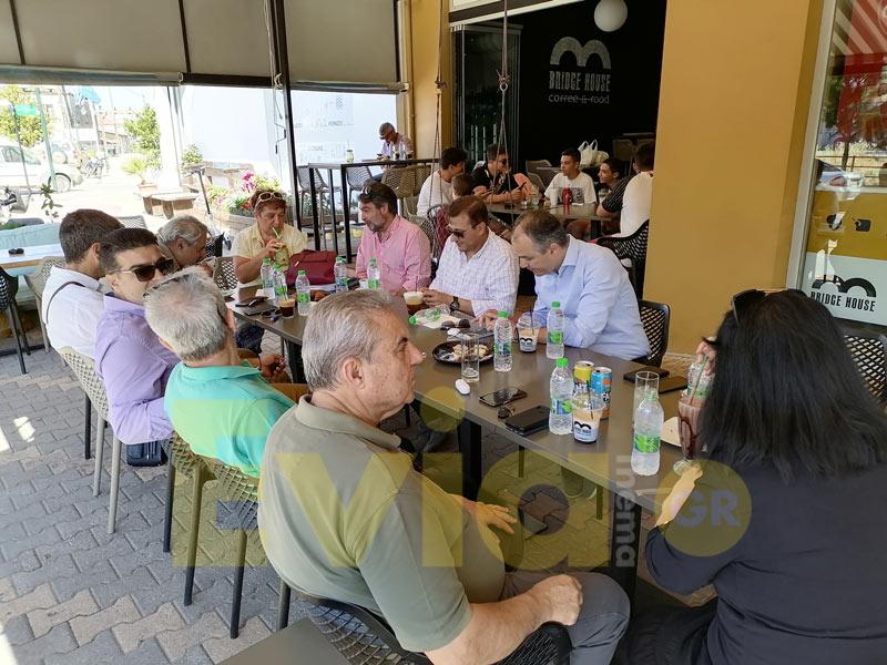 Στα Ψαχνά για καφέ μετά την Παρουσίαση, Στα Ψαχνά για καφέ μετά την Παρουσίαση…, Eviathema.gr | ΕΥΒΟΙΑ ΝΕΑ - Νέα και ειδήσεις από όλη την Εύβοια