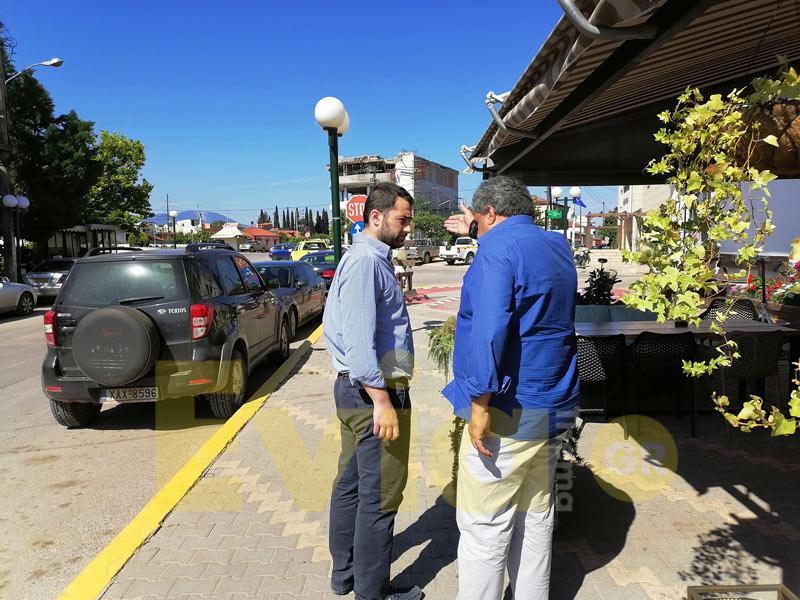 Στα Ψαχνά για καφέ μετά την Παρουσίαση, Στα Ψαχνά για καφέ μετά την Παρουσίαση…, Eviathema.gr | Εύβοια Τοπ Νέα Ειδήσεις
