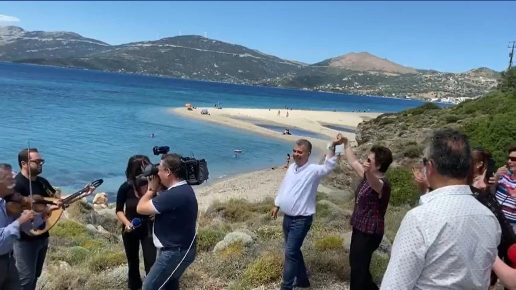 Ο Λευτέρης Ραβιόλος μοιράζεται σκηνές, Ο Λευτέρης Ραβιόλος μοιράζεται σκηνές από τα backstage των γυρισμάτων της ΕΡΤ1, Eviathema.gr | ΕΥΒΟΙΑ ΝΕΑ - Νέα και ειδήσεις από όλη την Εύβοια
