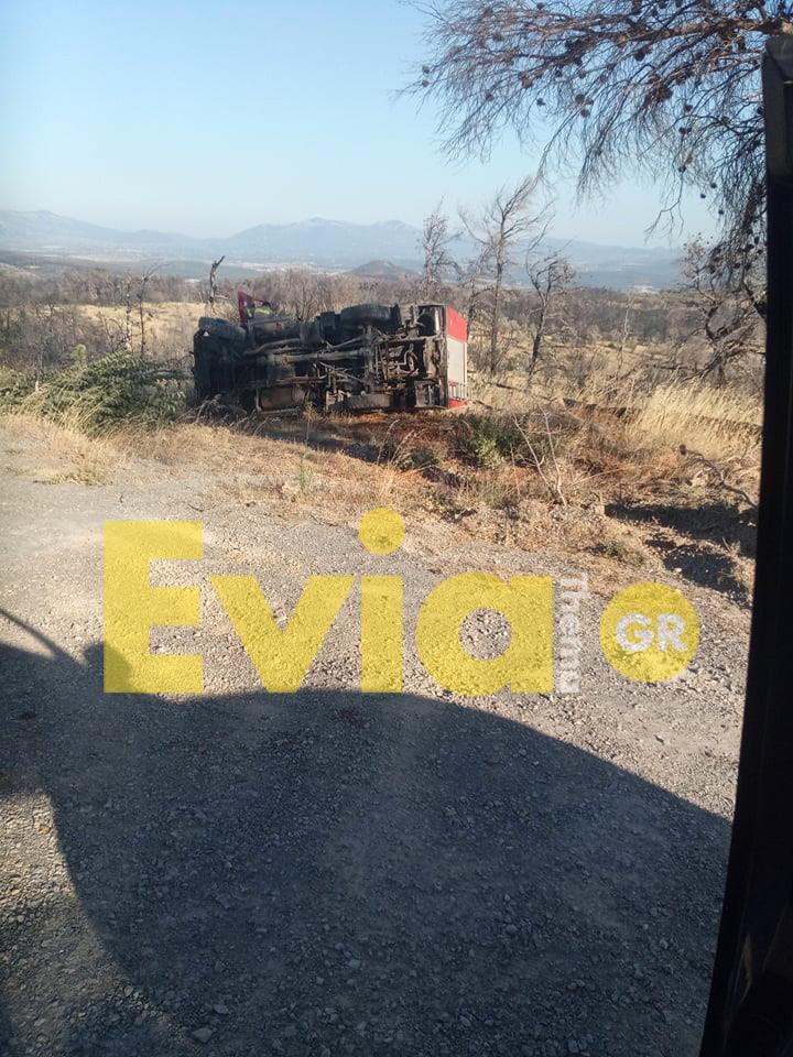 Κοντοδεσπότι Ευβοίας: Φωτιά στην περιοχή Προφήτης Ηλίας, Κοντοδεσπότι Ευβοίας: Φωτιά στην περιοχή Προφήτης Ηλίας το απόγευμα της Τετάρτης – Εξετράπη πυροσβεστικό όχημα [ΦΩΤΟΓΡΑΦΙΕΣ – BINTEO], Eviathema.gr | ΕΥΒΟΙΑ ΝΕΑ - Νέα και ειδήσεις από όλη την Εύβοια