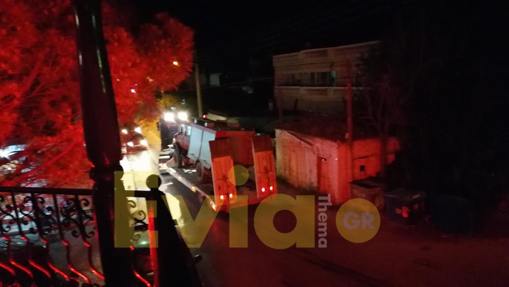 ανάσυρση του πυροσβεστικού οχήματος στο Κοντοδεσπίτι, Αργά το βράδυ της Τετάρτης η ανάσυρση του πυροσβεστικού οχήματος στο Κοντοδεσπίτι [ΦΩΤΟΓΡΑΦΙΑ – ΒΙΝΤΕΟ], Eviathema.gr | Εύβοια Τοπ Νέα Ειδήσεις
