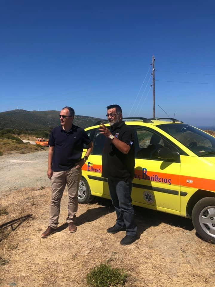 Ο Ραβιόλος και ο Κελαϊδίτης για την πυρκαγιά, Ο Ραβιόλος και ο Κελαϊδίτης για την πυρκαγιά στους Ραπτέους στην Νότια Εύβοια, Eviathema.gr | ΕΥΒΟΙΑ ΝΕΑ - Νέα και ειδήσεις από όλη την Εύβοια