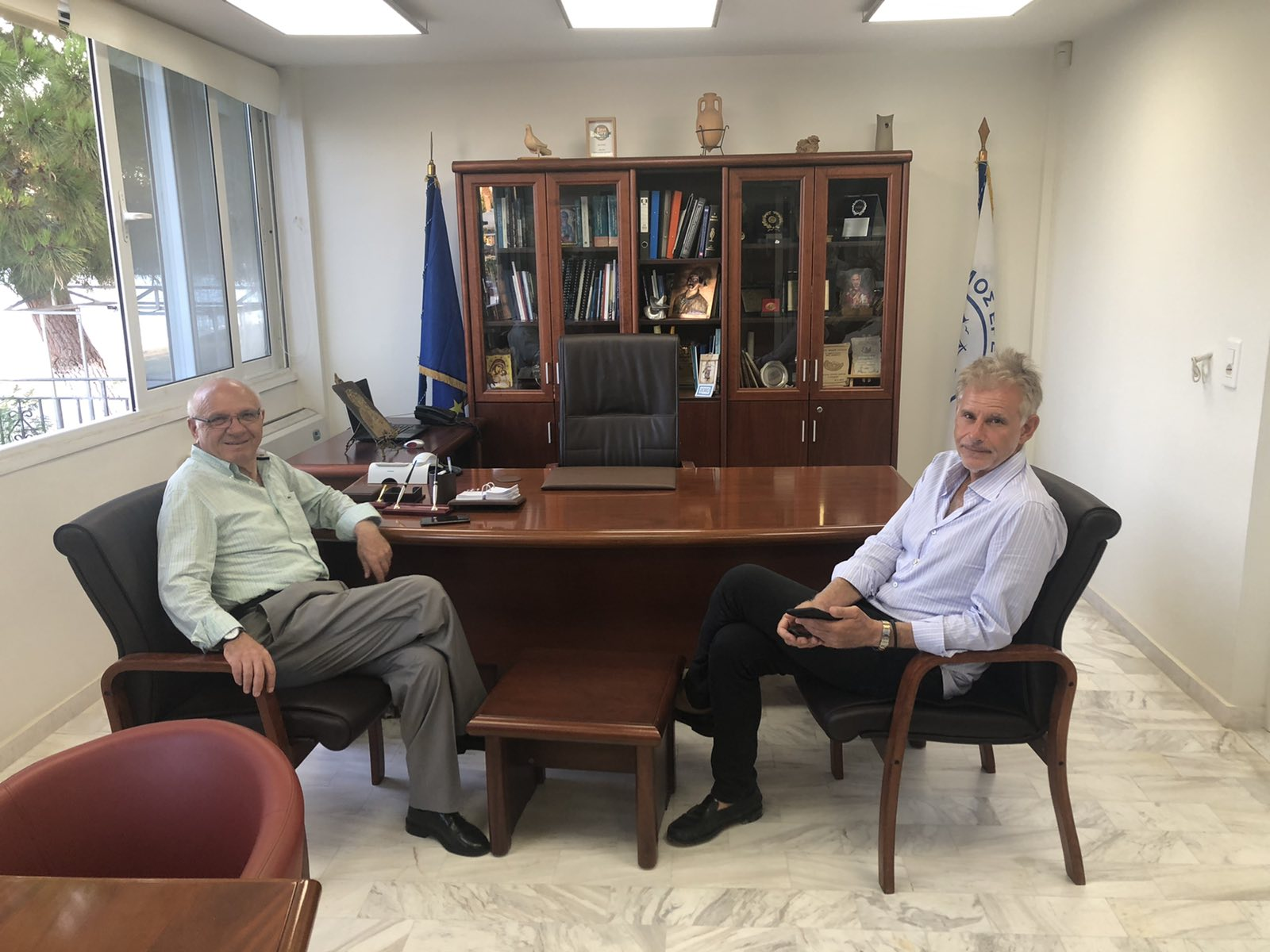 επισκέφθηκε ο Σπύρος Πνευματικός, Τον Δήμο Κύμης Αλιβερίου και Ερέτριας επισκέφθηκε ο Σπύρος Πνευματικός την Δευτέρα, Eviathema.gr | ΕΥΒΟΙΑ ΝΕΑ - Νέα και ειδήσεις από όλη την Εύβοια