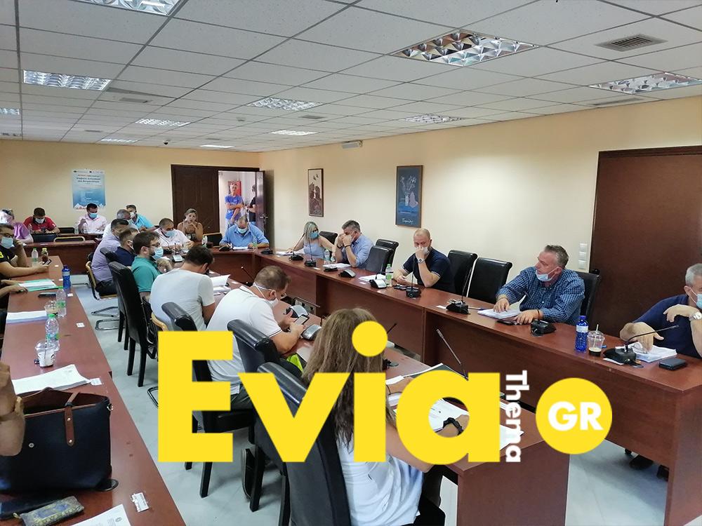 Απόλυτη τήρηση των μέτρων στο Δημοτικό Συμβούλιο του Δήμου Διρφύων Μεσσαπίων, Απόλυτη τήρηση των μέτρων στο Δημοτικό Συμβούλιο του Δήμου Διρφύων Μεσσαπίων, Eviathema.gr | ΕΥΒΟΙΑ ΝΕΑ - Νέα και ειδήσεις από όλη την Εύβοια
