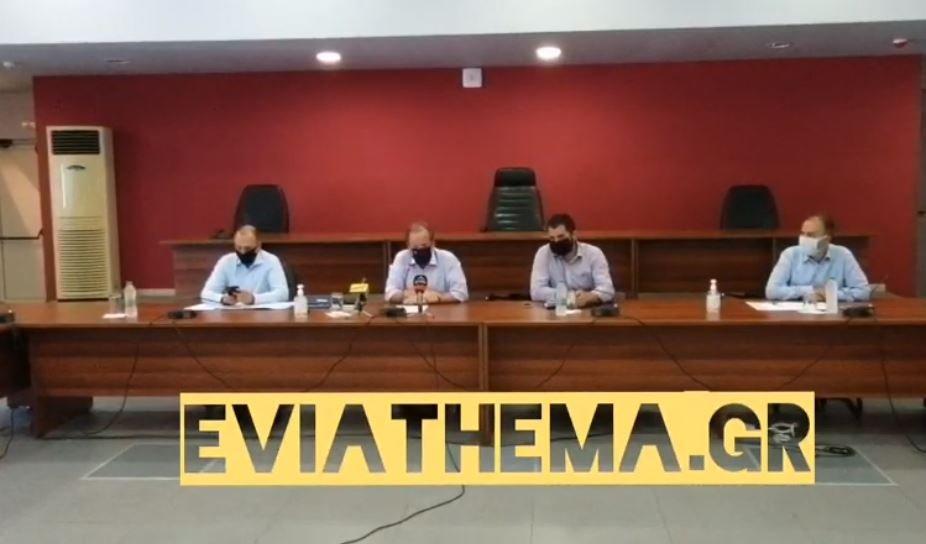 Εύβοια: Κοινές δηλώσεις Υπουργού Καραμανλή και Περιφερειάρχη Σπανού, Εύβοια:  Κοινές δηλώσεις Υπουργού Καραμανλή και Περιφερειάρχη Σπανού [ΒΙΝΤΕΟ], Eviathema.gr | ΕΥΒΟΙΑ ΝΕΑ - Νέα και ειδήσεις από όλη την Εύβοια