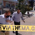 , Ο Υπουργός Υποδομών Κώστας Καραμανλής με τον Περιφερειάρχη Φάνη Σπανό στο Διοικητήριο της Χαλκίδας [ΦΩΤΟΓΡΑΦΙΕΣ&ΒΙΝΤΕΟ], Eviathema.gr | Εύβοια Τοπ Νέα Ειδήσεις