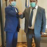 , Πραγματοποιήθηκε η συνάντηση Τσαπουρνιώτη με Γεωργιάδη, Eviathema.gr   Εύβοια Τοπ Νέα Ειδήσεις