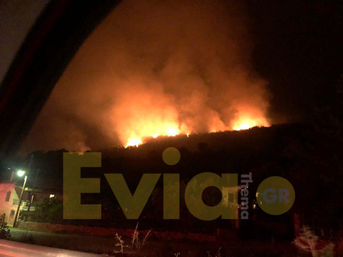 , Μάνη Λακωνίας: Μάχη με τις φλόγες λίγο μετά τις 1 τα ξημερώματα της Κυριακής [ΦΩΤΟΓΡΑΦΙΕΣ – ΒΙΝΤΕΟ], Eviathema.gr | ΕΥΒΟΙΑ ΝΕΑ - Νέα και ειδήσεις από όλη την Εύβοια