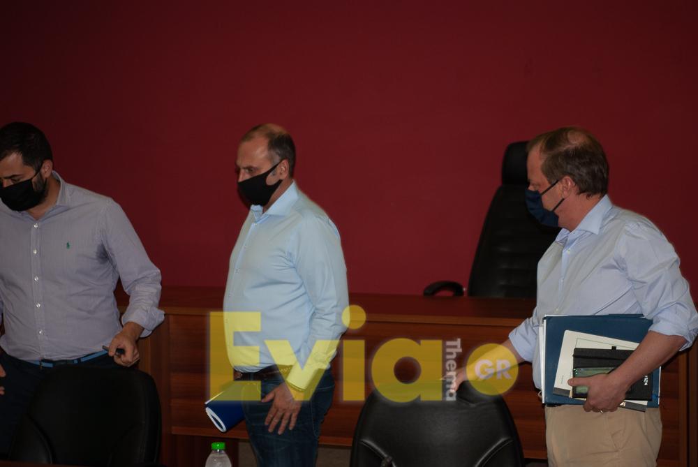 Ο Υπουργός Υποδομών Κώστας Καραμανλής με τον Περιφερειάρχη Φάνη Σπανό στο Διοικητήριο της Χαλκίδας, Ο Υπουργός Υποδομών Κώστας Καραμανλής με τον Περιφερειάρχη Φάνη Σπανό στο Διοικητήριο της Χαλκίδας [ΦΩΤΟΓΡΑΦΙΕΣ&ΒΙΝΤΕΟ], Eviathema.gr | ΕΥΒΟΙΑ ΝΕΑ - Νέα και ειδήσεις από όλη την Εύβοια